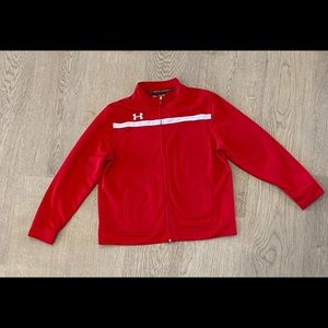 Boy's Red Under Armour Jacket